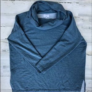 Lou & Grey Soft Cowl Neck Pullover